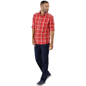 Regatta Mindano - T-shirt manches longues Homme - rouge